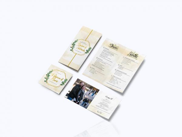 Hochzeitskarten – R & M